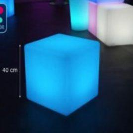 Cube lumineux 30x30