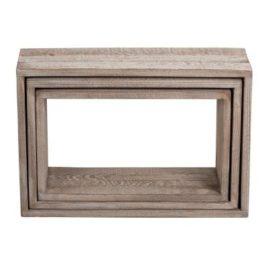 Cubes en bois déco