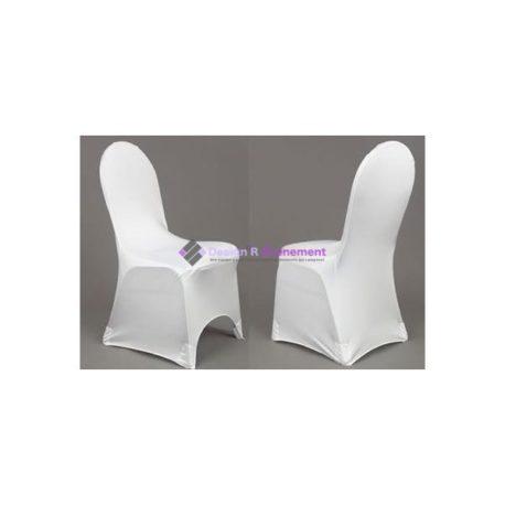 Location Housses de chaise lycra blanc- Location Design'R Évènement 2