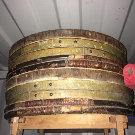 Location fond de tonneau en bois