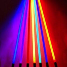 Location Tube néon couleur
