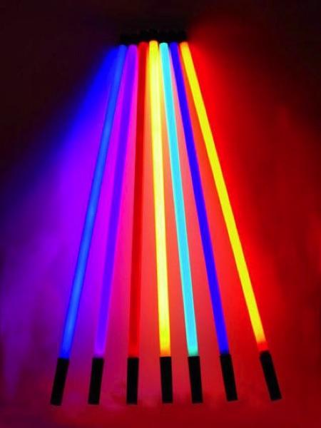 Tube néon couleur