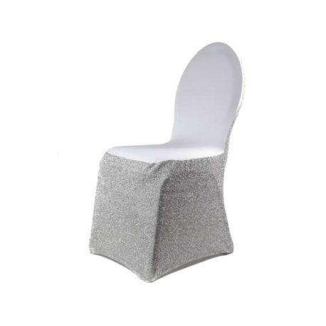 Housses de chaise pailletée