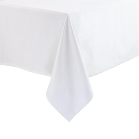 Nappes blanches rectangles