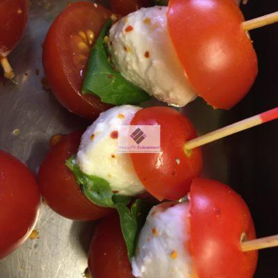 Pic Tomate Mozzarella et Basilic